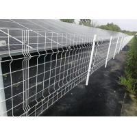 3D Nylofor Welded Mesh Security Fencing , Welded Wire Mesh Gate For Home Garden Manufactures