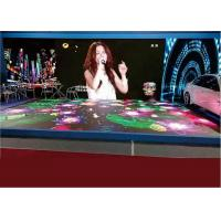Dancing Floor Rental LED Display , Interactive P6.25 Indoor LED Dance Panel Hiring Manufactures