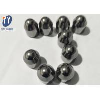 China Sintered Tungsten Carbide Drill Bit Components Carbide Buttons For Hard / Soft Rock Formation on sale