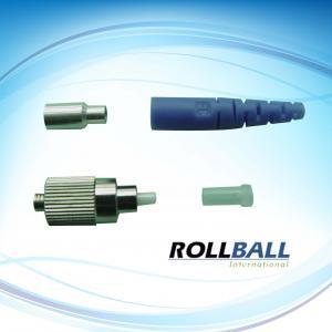 FC Optical Fiber Connectors , Corrosion Resistant Connectors