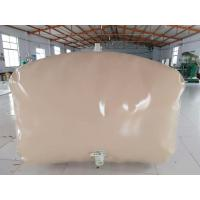 China 3500L Collapsible Water Tank  , Soft PVC Drinking Water Tank Pillow Shape on sale