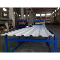 IBR Sheet Roofing Panel Sheet Forming Machine for 0.3mm - 0.8mm PPGI / galvanized coil Manufactures