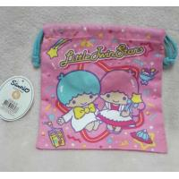 Buy cheap Kids Jewelry Storage Cloth Drawstring Bags Embroidery Logo With Hand Rope from wholesalers