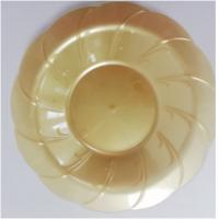 China 8 inch round disposable flaired plastic dessert bowls plastic microwave safe pp bowl plastic eating bowls on sale