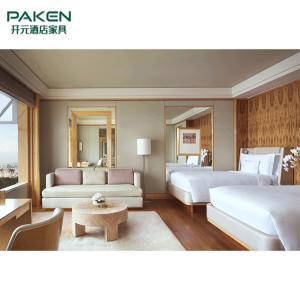 China 5 Star Living Room Beech Wood Custom Hotel Furniture on sale