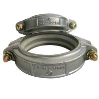 High Strength Cast Ductile Iron Pipe Clamp / Cast Iron Pipe Parts CT12 Tolerance Manufactures