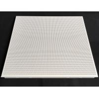 Fireproof Perforated Aluminum 0.7mm Thickness / Metal False Ceiling Tiles 600 X 600mm Manufactures