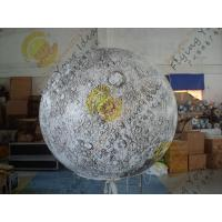 Quality 3m Eye-Catching Inflatable Lighting Balloon , 0.18mm thinkness helium quality for sale