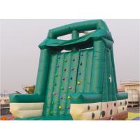 China Double Stitching Inflatable Climbing Walls / Rock Climbing Walls For Commercial on sale
