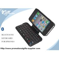 China Foldable wireless cases Bluetooth Keyboard for Iphone 4g with hard clicky keys on sale