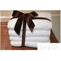 Pure Cotton Personalized Face Wash Towel White Eco friendly Hotel Use Manufactures