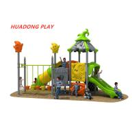Magic House Series Outdoor Ride Kids Playground Slide Equipment For Residential Area Manufactures