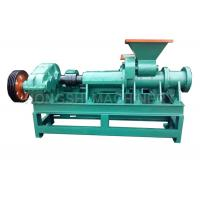 HS300 Model Coal Briquette Machine Spiral Extrusion Technology Easy Operation Manufactures