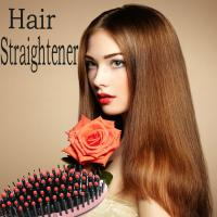 New Professional Straightening Tools Iron Brush Hair Straightener with LCD Display Electric Straight Hair Comb Manufactures