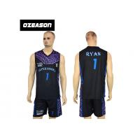 High Quality Sublimation Printing Reversible Training Basketball Uniform For Boys Manufactures