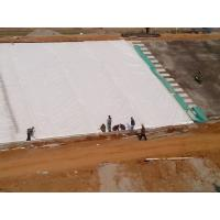 Quality 500g PET Polypropylene Geotextile Separation Fabric Anti - Acid for sale