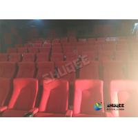 Special Effects Function Movie Theatre Seats / Chairs With Excited Feeling Manufactures