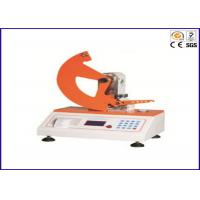 Tear Resistant Paper Package Testing Equipment with Tearing Distance 43 ± 0.5mm Manufactures