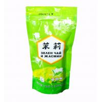 Shiny Peak Green Tea Bags Packaging Stand Up Aluminum Foil Jasmine Pouch Manufactures