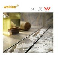 Wet room Brass long S S Channel Shower Drain Professional manufactory Manufactures