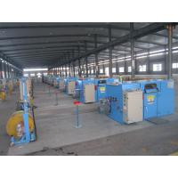 Bare Copper Wire Bunching Machine / double twist cable bunching machine Manufactures