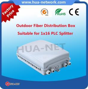 Supply 16 core fiber optic termination box indoor fiber optic terminal box outdoor FTTH 16port fiber optic distribution Manufactures