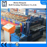 Buy cheap Container Panel Cold Roll Forming Machine Gr15 Bearing Steel Rollers from wholesalers