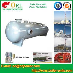 Waste Heat Boiler High Pressure Drum , Boiler Unit ORL Power High Performance Manufactures