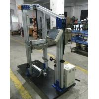 Drop height 50mm  Bike Frame Front / Fork Assembly Impact Test Equipment / Drop Tester ISO 8098 Manufactures