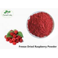 Pure Natural Freeze Dried Raspberry Fruit Powder Food Grade Red Color Manufactures