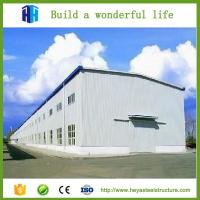 HEYA superior quality pre engineering steel structure building and workshop factory for sale Manufactures
