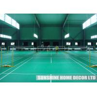 Safe Waterproof Interlocking Indoor Sports Flooring Surface For Playground Synthetic Badminton Court Tent Flooring Manufactures