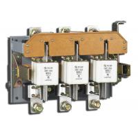 380V Electrical Fuse Disconnect Switch 3 Pole With Knife Switch HR3 Series Manufactures