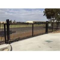 Quality Powder Coated 4x8 Wrought Iron Fence Panels , Wrought Iron Fence Gate for sale