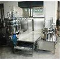Automatic Cosmetic Machinery 100L Vacuum Homogenizing Emulsifier Equipment Manufactures