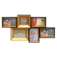 Fashion Design and Simple Moulding Gold Collage Photo Frames Manufactures