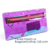 Amazon Top Seller Travel Organizer Transparent Foldable Pouch Clear Eva Makeup Travel Bag, cosmetic pouch eva clear poly Manufactures
