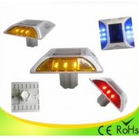 IP68 Aluminum Shell Solar Led Road Stud With 1000M Visual Distance , Solar Cats Eyes Manufactures