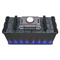 China Rechargeable Portable Bluetooth Dj Speakers Scratch Daul 10 Inch Wireless Input on sale