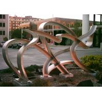 Modern Hand Made Art Stainless Steel Metal Sculpture Landscaping Decoration Manufactures