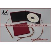 Quality Single Fabric Linen DVD CD Holder for sale