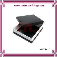 Luxury design paper packaging box for men clothing ME-TB017 Manufactures