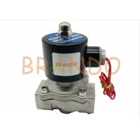 """Normal Closed Pneumatic Solenoid Valve 3/4"""" Inches For Water Industry 2S-200-20 Manufactures"""