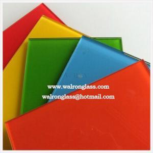 Silk screenprinting tempered/toughened glass for glass splashback