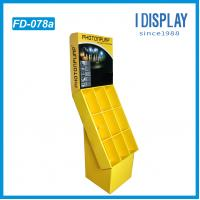 promotional paper LED light cardboard display stand for retail Manufactures