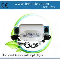 Body detoxifier dual ionic detox foot bath machine with mp3 player Manufactures