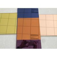 Environmentally Friendly Silver Tinted Glass Easy Installation / Cleaning Manufactures
