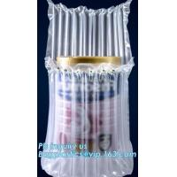 air cushion pillow bags, inflatable air filled pillow bag, shockproof recycable air pillow glass bottle bag, bagplastics
