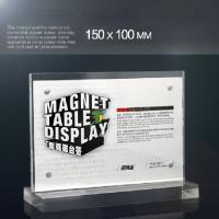 A4 Size Menu Acrylic Holder Stand Plexiglass Sign Holder 150mm×100mm Manufactures