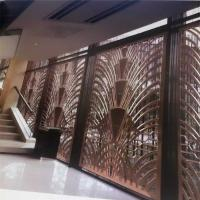 CNC laser cutting panel screen metal decoration material for luxury architectural and interior projects Manufactures